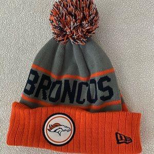 Denver Broncos knit hat - perfect condition